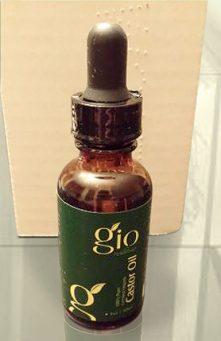 Gio Naturals Castor Oil